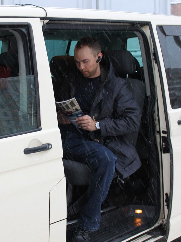 Minsk taxi: 190 cm-tall passenger fits all right