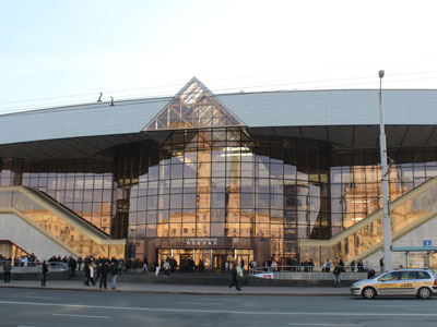 Central Railway Station in Minsk