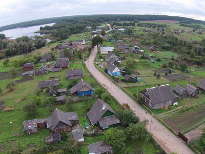Plisa Village air view