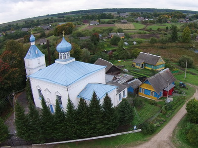Old Russian Orthodox Church in Plisa